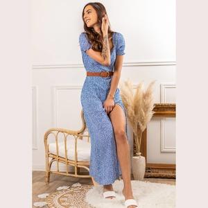 La belle robe longue fendue JENA Au petit prix de 16,80€