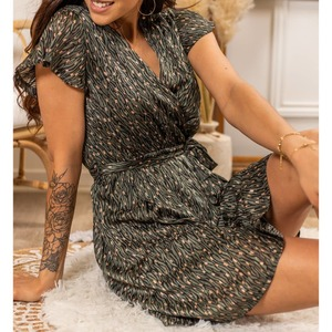 Coup de ❤ pour ces 2 jolies robes effet satiné ▪️Robe NICKY 17,50€ ▪️Robe PYTHON 18,90€